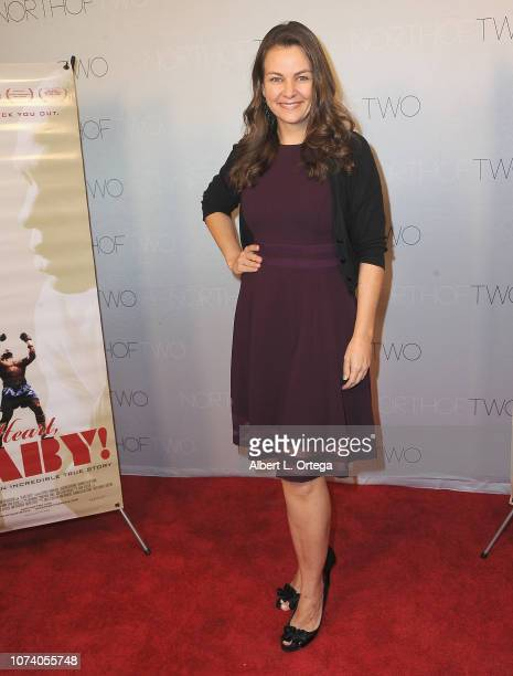 Actress Lauren White arrives for the premiere of 'Heart Baby' held at The Ahrya Fine Arts Laemmle Theater on November 23 2018 in Beverly Hills...
