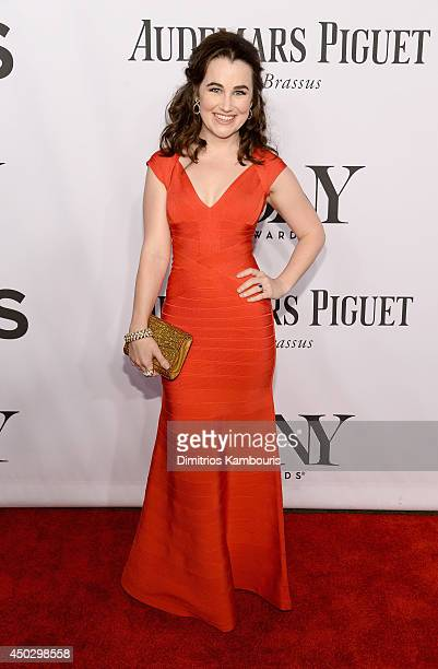 Actress Lauren Worsham attends the 68th Annual Tony Awards at Radio City Music Hall on June 8 2014 in New York City