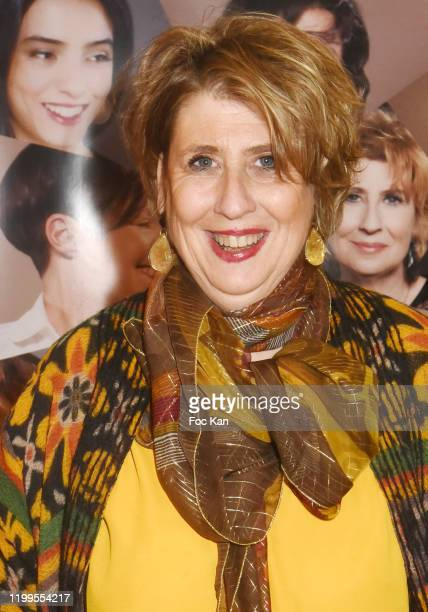 Actress Laurence Meunier attends Pygmalionnes Screening at Assemblee Nationale on January 14 2020 in Paris France