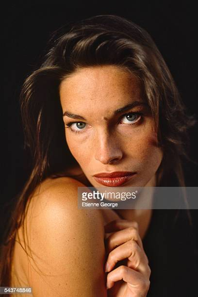 Actress Laurence Treil on the set of Entangled directed by Max Fisher The movie is based on Les Veufs written by Pierre Boileau and Pierre Ayraud aka...