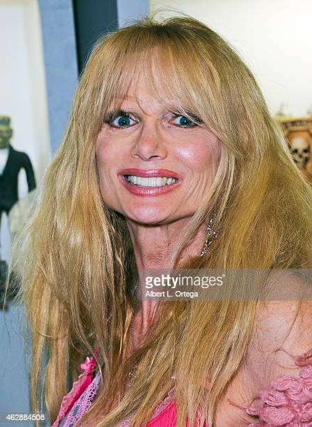 Actress Laurene Landon at the Second Annual David DeCoteau's Day Of The Scream Queens held at Dark Delicacies Bookstore on January 25, 2015 in...