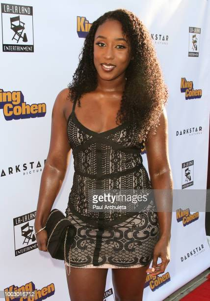 Actress Laurene Landon attends the premiere of Dark Star Pictures' 'King Cohen' at Ahrya Fine Arts Theater on July 20 2018 in Beverly Hills California