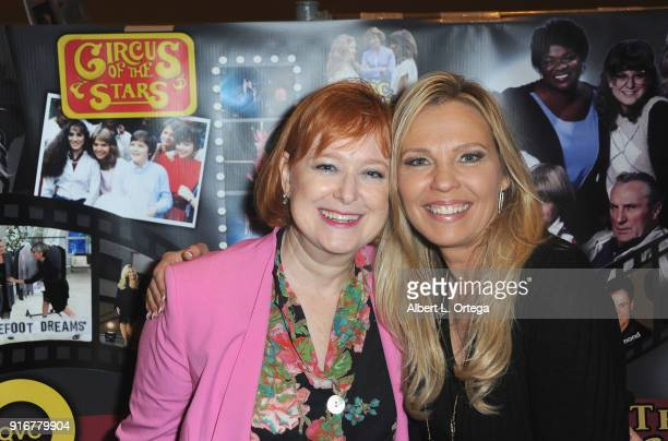 Actress Lauri Hendler and actress Kari Michaelsen attend The Hollywood Show held at Westin LAX Hotel on February 10 2018 in Los Angeles California