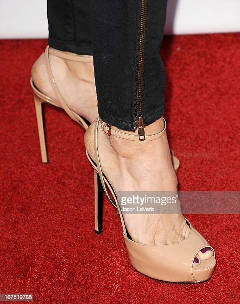 Actress Laurie Fortier attends a QA for House Of Cards at Leonard H Goldenson Theatre on April 25 2013 in North Hollywood California
