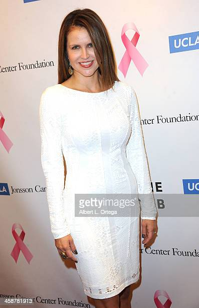 Actress Laurie Fortier attends TJ Scott's In The Tub Book Party Launch to benefit UCLA's Jonsson Cancer Center for Breast Research hosted by Katrina...