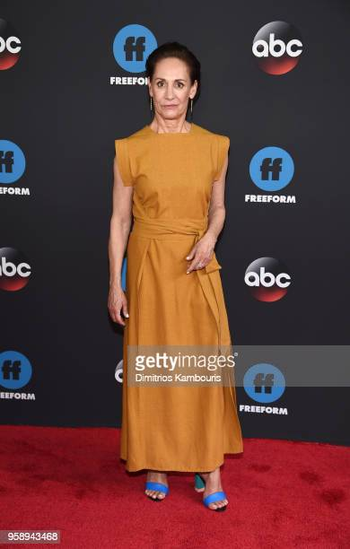 Actress Laurie Metcalf attends during 2018 Disney ABC Freeform Upfront at Tavern On The Green on May 15 2018 in New York City