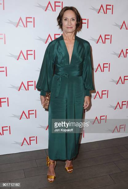Actress Laurie Metcalf attends the 18th Annual AFI Awards at the Four Seasons Hotel on January 5 2018 in Los Angeles California
