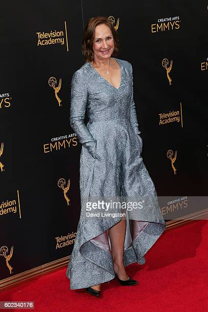 Actress Laurie Metcalf attends the 2016 Creative Arts Emmy Awards Day 1 at the Microsoft Theater on September 10 2016 in Los Angeles California