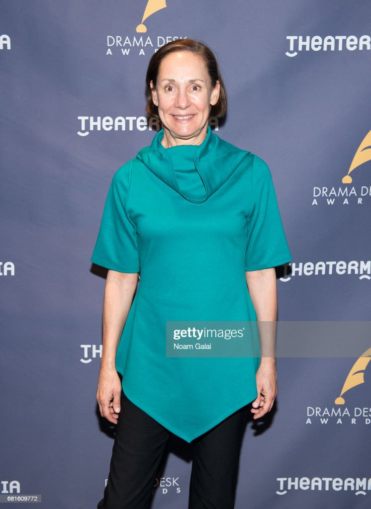Actress Laurie Metcalf attends the 2017 Drama Desk Nominees Reception at Marriott Marquis Times Square on May 10, 2017 in New York City.