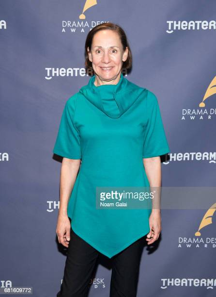 Actress Laurie Metcalf attends the 2017 Drama Desk Nominees Reception at Marriott Marquis Times Square on May 10 2017 in New York City