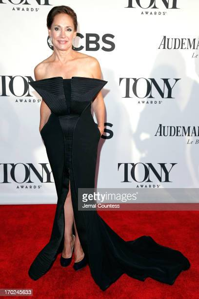 Actress Laurie Metcalf attends The 67th Annual Tony Awards at Radio City Music Hall on June 9 2013 in New York City