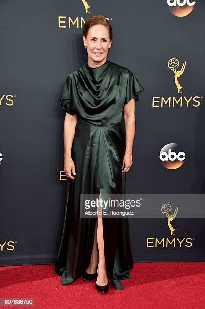 Actress Laurie Metcalf attends the 68th Annual Primetime Emmy Awards at Microsoft Theater on September 18 2016 in Los Angeles California