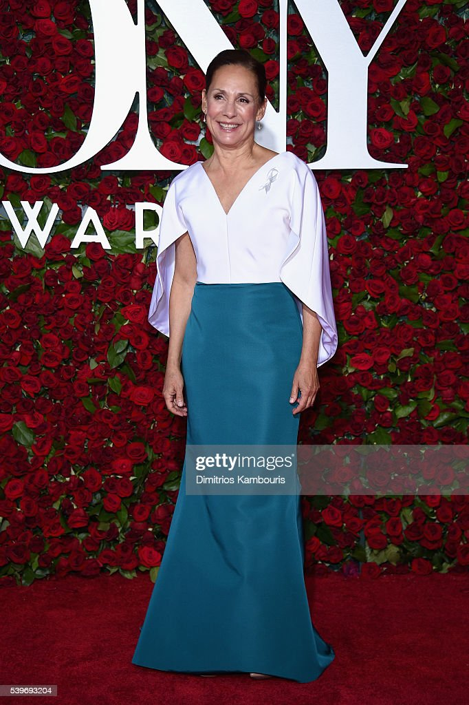 Actress Laurie Metcalf attends the 70th Annual Tony Awards at The Beacon Theatre on June 12, 2016 in New York City.