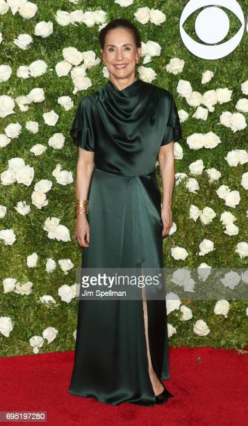 Actress Laurie Metcalf attends the 71st Annual Tony Awards at Radio City Music Hall on June 11 2017 in New York City