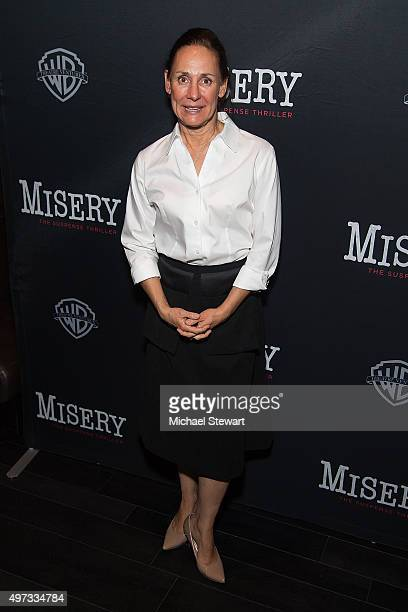 Actress Laurie Metcalf attends the 'Misery' Broadway opening night after party at TAO Downtown on November 15 2015 in New York City