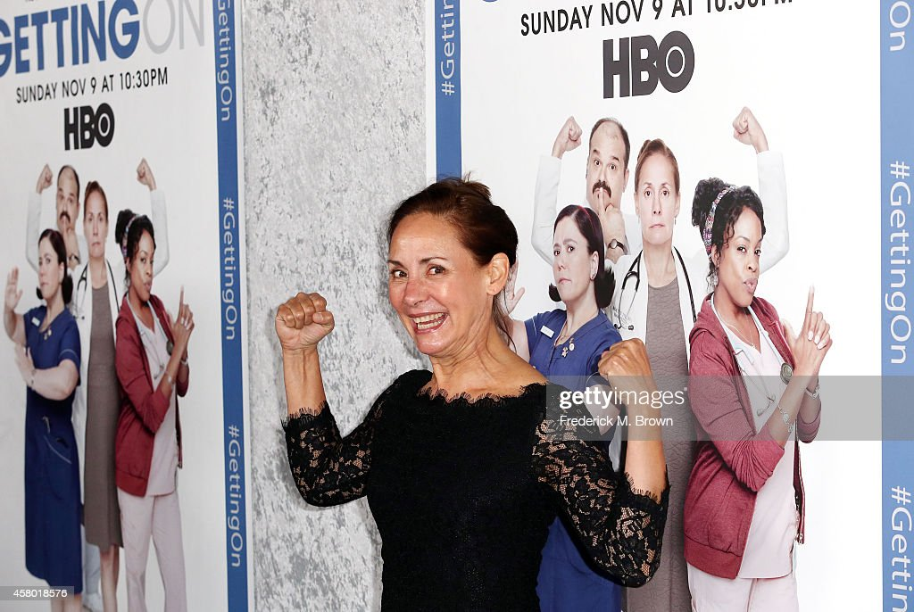 Actress Laurie Metcalf attends the Premiere of HBO's 'Getting On' Season 2 at the Avalon on October 28, 2014 in Hollywood, California.