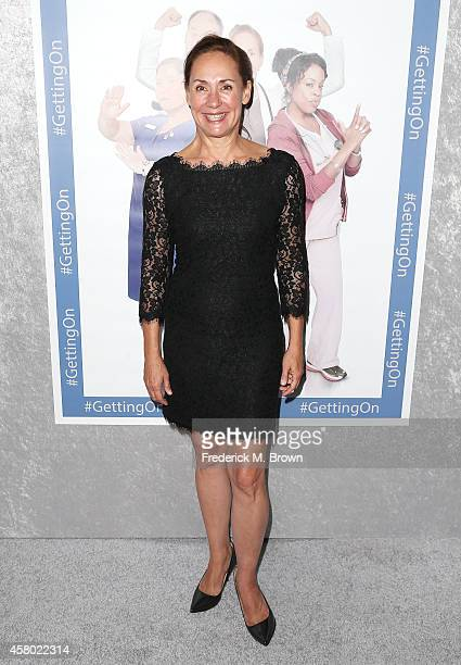 Actress Laurie Metcalf attends the Premiere of HBO's 'Getting On' Season 2 at the Avalon on October 28 2014 in Hollywood California