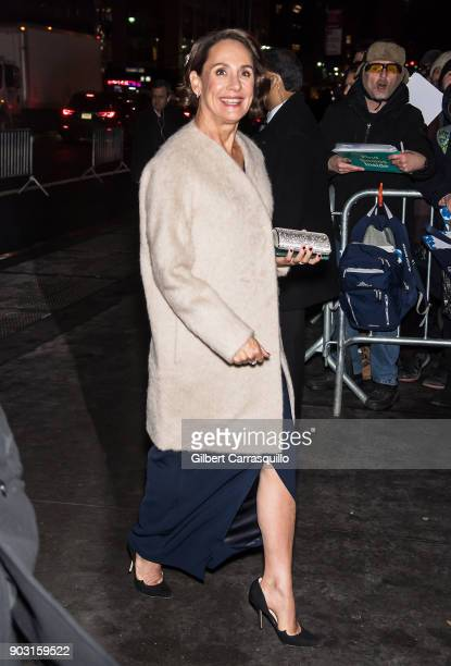 Actress Laurie Metcalf is seen arriving at the 2018 National Board of Review Awards Gala at Cipriani 42nd Street on January 9 2018 in New York City