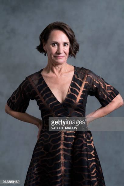Actress Laurie Metcalf poses for portraits during the Academy Awards annual nominees luncheon for the 90th Oscars at the Beverly Hilton California on...