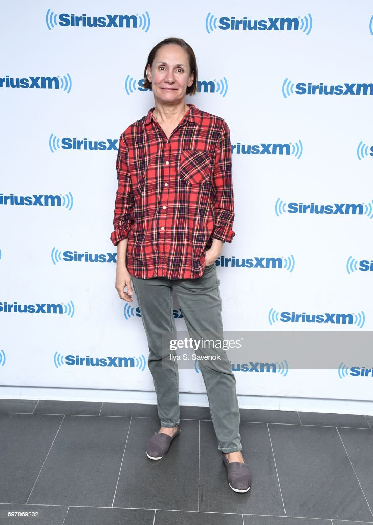 Actress Laurie Metcalf visits the SiriusXM Studios on June 19, 2017 in New York City.