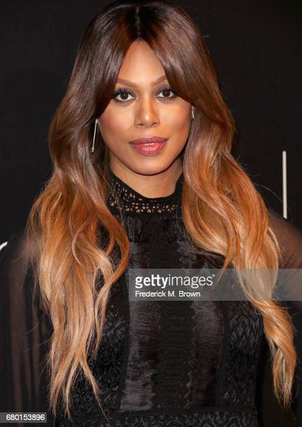 Actress Laverne Cox arrives at the Netflix FYSee Kick Off Event at Netflix FYSee Space on May 7 2017 in Beverly Hills California