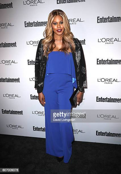 Actress Laverne Cox attends Entertainment Weekly's 2016 Pre-Emmy Party at Nightingale Plaza on September 16, 2016 in Los Angeles, California.