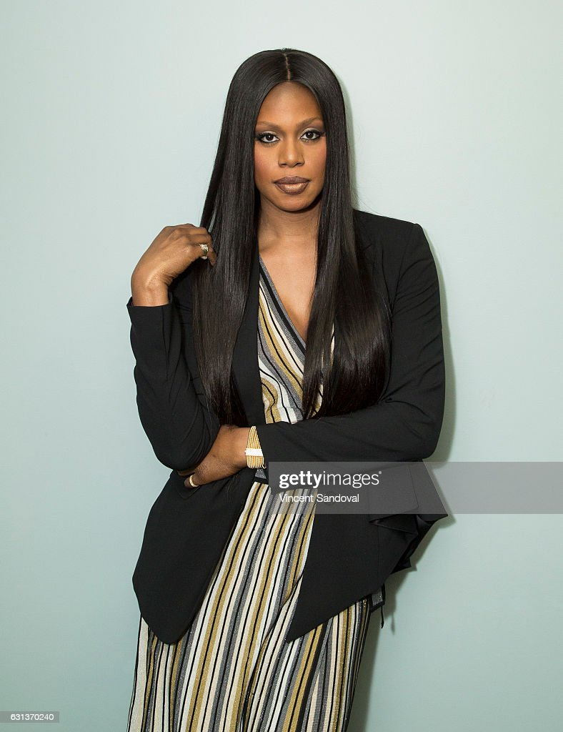 Actress Laverne Cox attends SAG-AFTRA Foundation's Conversations with 'Doubt' at SAG-AFTRA Foundation Screening Room on January 9, 2017 in Los Angeles, California.