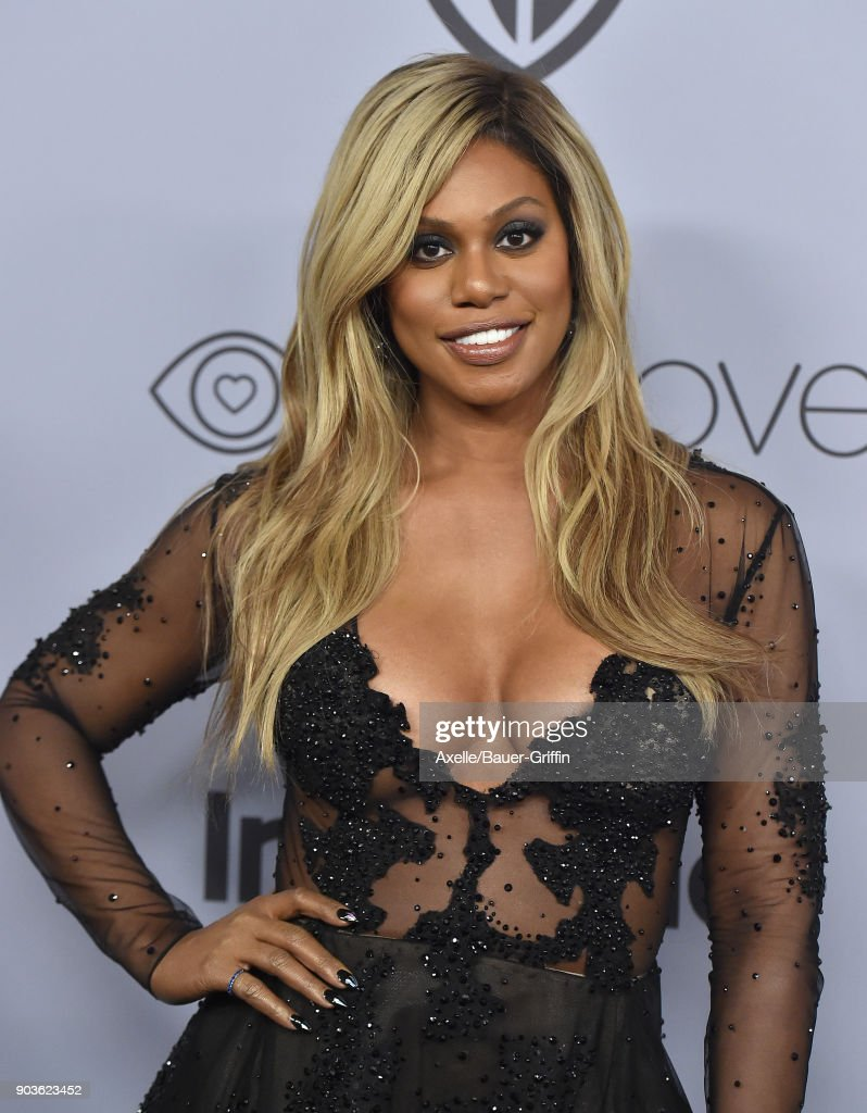 Actress Laverne Cox attends the 19th Annual Post-Golden Globes Party hosted by Warner Bros. Pictures and InStyle at The Beverly Hilton Hotel on January 7, 2018 in Beverly Hills, California.