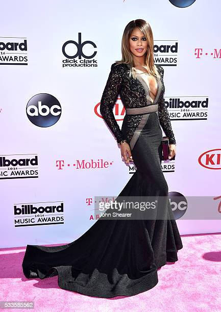 Actress Laverne Cox attends the 2016 Billboard Music Awards at TMobile Arena on May 22 2016 in Las Vegas Nevada