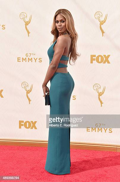 Actress Laverne Cox attends the 67th Emmy Awards at Microsoft Theater on September 20 2015 in Los Angeles California 25720_001