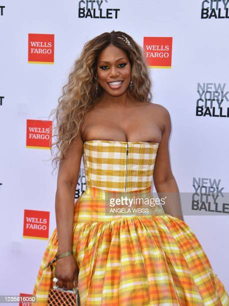 Actress Laverne Cox attends the New York City Ballet's 2021 Fall Fashion Gala on September 30, 2021 in New York City.