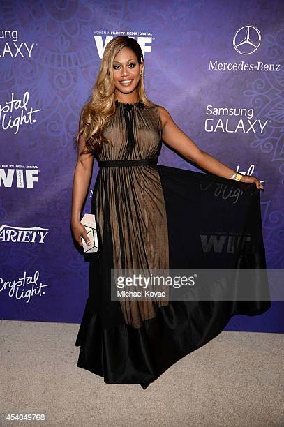 Actress Laverne Cox attends Variety and Women in Film Emmy Nominee Celebration powered by Samsung Galaxy on August 23 2014 in West Hollywood...
