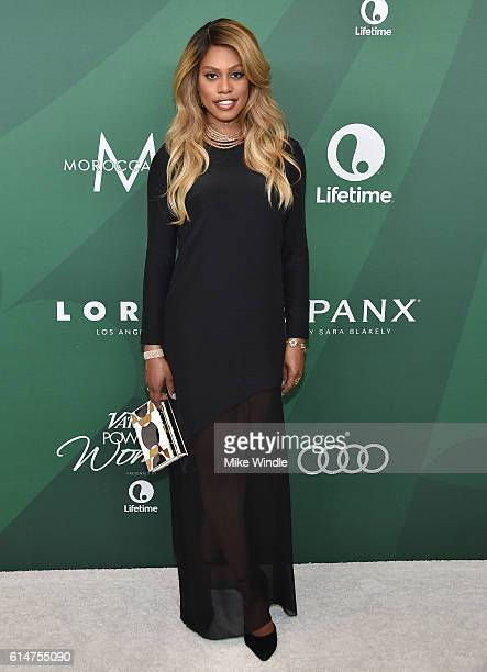 Actress Laverne Cox attends Variety's Power of Women Luncheon 2016 at the Beverly Wilshire Four Seasons Hotel on October 14 2016 in Beverly Hills...