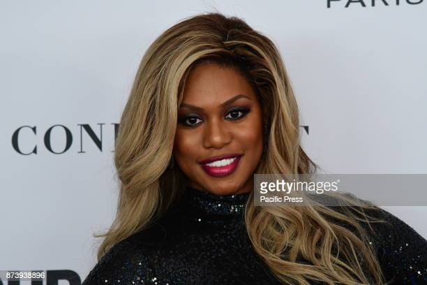 Actress Laverne Cox For the first time ever Glamour Magazine's Women of the Year Awards were held in Brooklyn's Kings Theater honoring women of...
