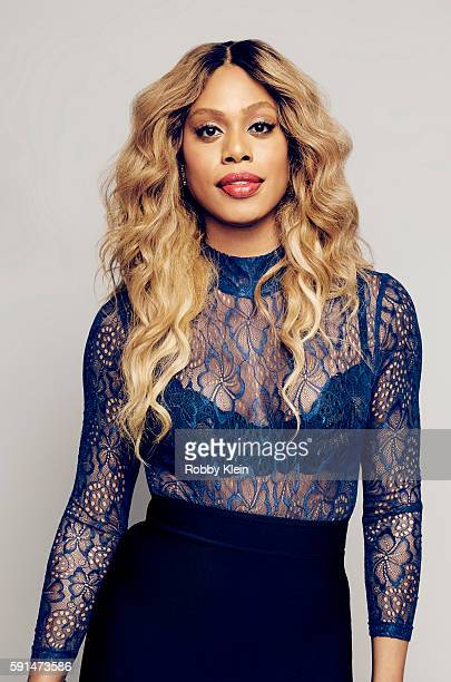Actress Laverne Cox from CBS's 'Doubt' poses for a portrait at the FOX Summer TCA Press Tour at Soho House on August 9 2016 in Los Angeles California