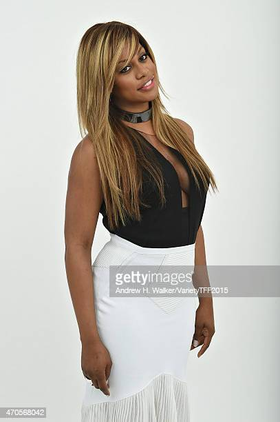 Actress Laverne Cox from 'Grandma' appears at the 2015 Tribeca Film Festival Getty Images Studio on April 20 2015 in New York City