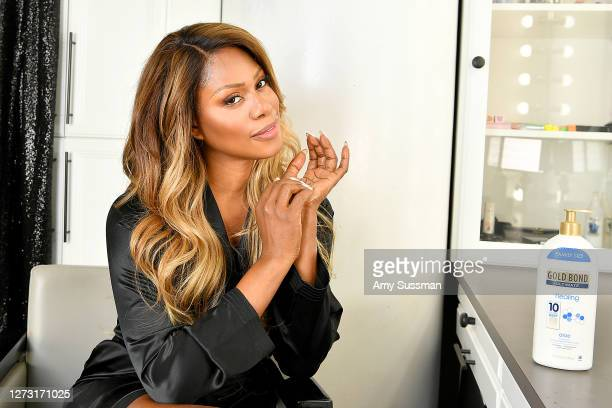 Actress Laverne Cox kicks off awards weekend at home in Los Angeles with Gold Bond Ultimate® Healing Lotion and the #ChampionYourSkin campaign,...