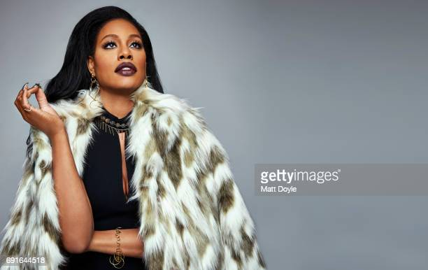 Actress Laverne Cox photographed for Back Stage on February 15 in New York City PUBLISHED IMAGE