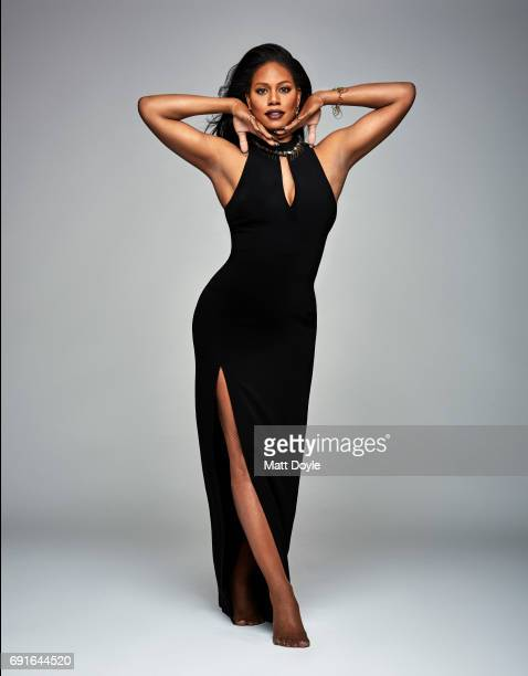 Actress Laverne Cox photographed for Back Stage on February 15 in New York City PUBLISHED COVER