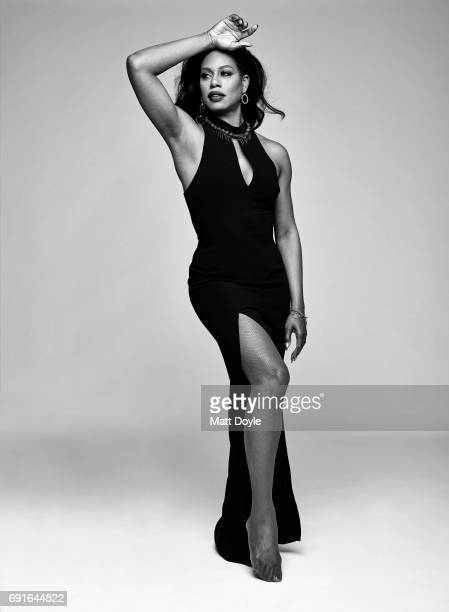 Actress Laverne Cox photographed for Back Stage on February 15 in New York City