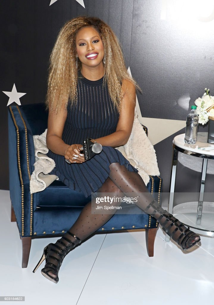 Laverne Cox Visits Macy's Herald Square