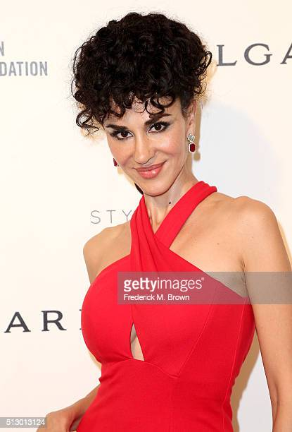 Actress Layla Alizada attends the 24th Annual Elton John AIDS Foundation's Oscar Viewing Party on February 28 2016 in West Hollywood California