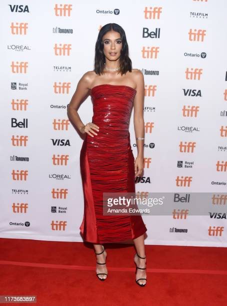 """Actress Laysla De Oliveira arrives at the 2019 Toronto International Film Festival - """"Guest Of Honour"""" Premiere at The Elgin on September 10, 2019 in..."""