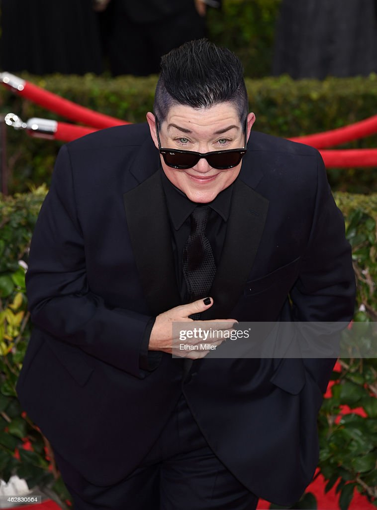 Actress Lea DeLaria attends the 21st Annual Screen Actors Guild Awards at The Shrine Auditorium on January 25, 2015 in Los Angeles, California.
