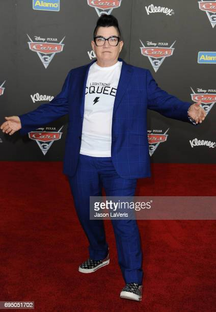 Actress Lea DeLaria attends the premiere of 'Cars 3' at Anaheim Convention Center on June 10 2017 in Anaheim California