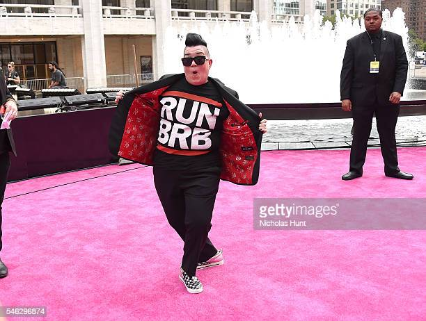 Actress Lea DeLaria attends the VH1 Hip Hop Honors All Hail The Queens at David Geffen Hall on July 11 2016 in New York City