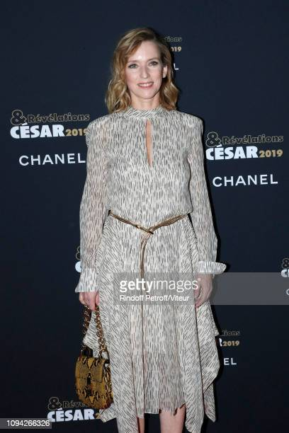 Actress Lea Drucker attends the 'Cesar Revelations 2019' at Le Petit Palais on January 14 2019 in Paris France