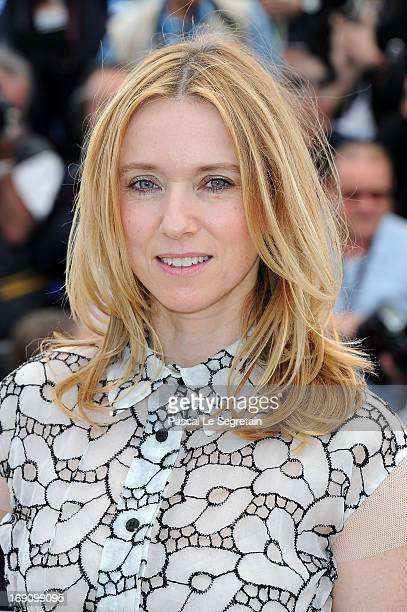 Actress Lea Drucker attends the photocall for 'Jeunes Talents Adami' during The 66th Annual Cannes Film Festival at Palais des Festivals on May 20...