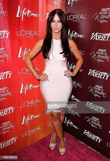 Actress Lea Michele arrives at the 3rd Annual Variety's Power of Women Event presented by Lifetime on at the Beverly Wilshire Four Seasons Hotel...
