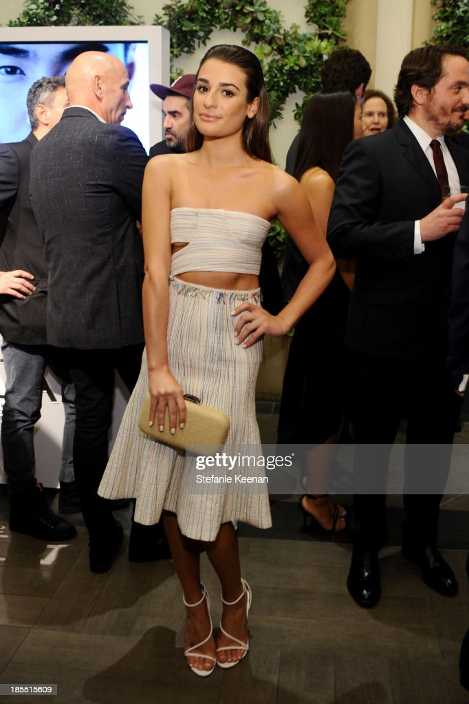 Actress Lea Michele attends ELLE's 20th Annual Women In Hollywood Celebration at Four Seasons Hotel Los Angeles at Beverly Hills on October 21, 2013 in Beverly Hills, California.